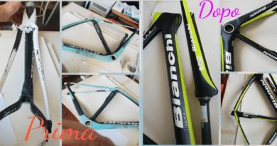 Decorazioni su bici e accessori con aerografia di Crissart