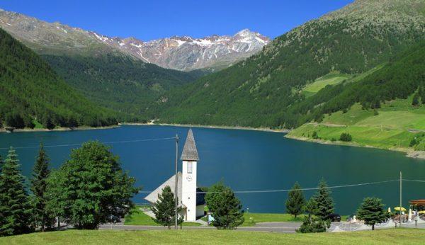 Lago Vernago, stupendo da raggiungere in bicicletta