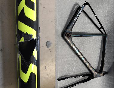 Doctor Bike: un artista nella riparazione dei telai delle bici in carbonio