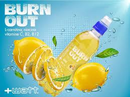 Burn Out bevanda a base carnitina