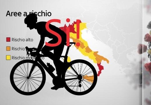 Ufficiale: in bici si può uscire dal Comune, le risposte alle principali domande