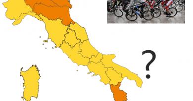 Brutta notizia per i ciclisti: in zona arancione non è più possibile uscire dal Comune